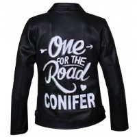 Unisex One For The Road Conifer Leather Jacket