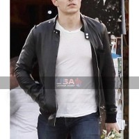 Dave Franco Unfinished Business (Mike Pencake) Bomber Jacket