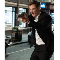 Men In Black International Chris Hemsworth Agent Cotton Blazer