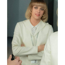 Charlie's Angels Team White Cotton Blazer