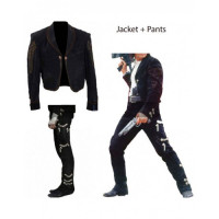 Antonio Banderas As (El Mariachi) Once Upon A Time In Mexico Suede Pants Jacket