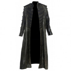Atlantis The Wraith Leather Coat Costume for Stargate Cosplay