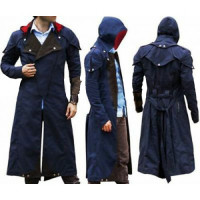 Assassins Creed Unity Arno Victor Dorian Cosplay Hooded Coat