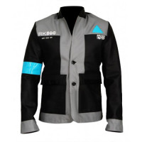 Detroit Become Human RK800 Connor Costume Leather Jacket