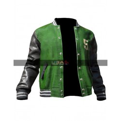 Pubg Players 5M Green Bomber Jacket