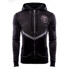 Avengers Infinity War Costume T'Challa Black Panther Cotton Hooded Jacket