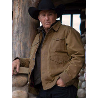 Yellowstone Kevin Costner Cotton Jacket