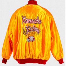 Kenosha Kickers Yellow Bomber Jacket