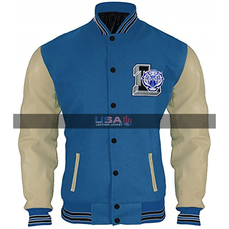 13 Reasons Why Brandon Flynn Baseball Varsity Jacket