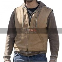 Yellowstone Luke Grimes Brown Vest