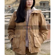 Kelsey Chow Yellowstone Monica Dutton Jacket