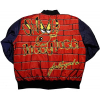 Men's Snoop Dogg DoggyStyle Red Bomber Jacket