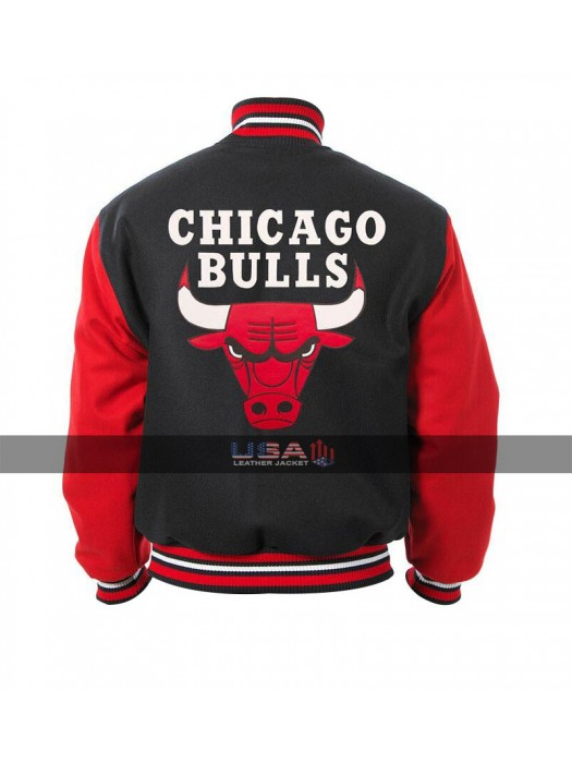 Men's Chicago Red Bulls Varsity Jacket