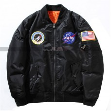Nasa Air Force Pilot Ma1 Flight Unisex Bomber Jacket | Unisex Summer Jacket