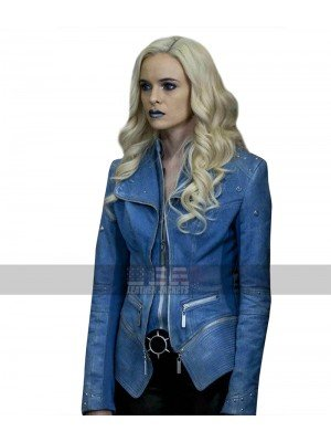 Caitlin Snow The Flash Season 4 Killer Frost Blue Costume Denim Jacket