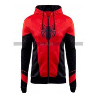 Spider-Man Far From Home Tom Holland Costume Hooded Jacket