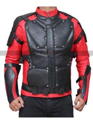 Deadshot Suicide Squad Costume Leather Jacket
