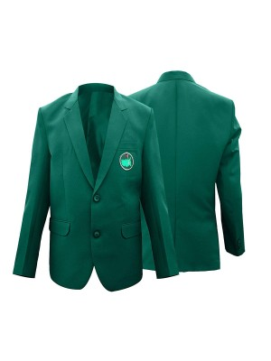 Unisex Augusta National Golf Club Masters Tournament Green Blazer Jacket