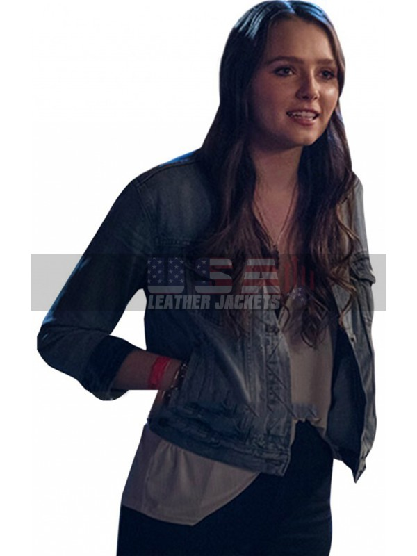 Hell Fest Amy Forsyth (Natalie) Blue Denim Jacket