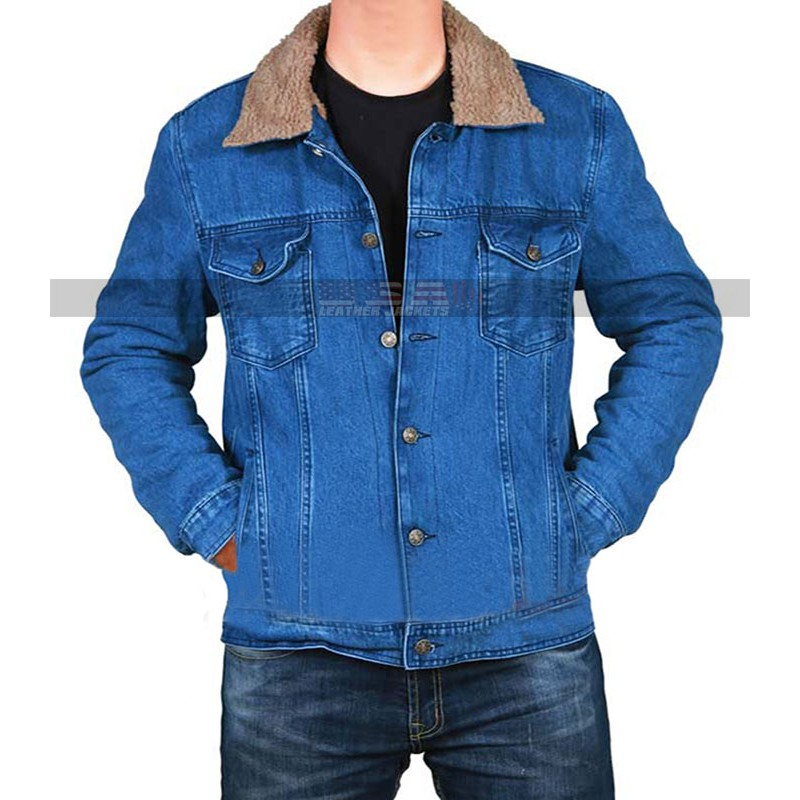 Love Simon Nick Robinson Blue Denim Jacket