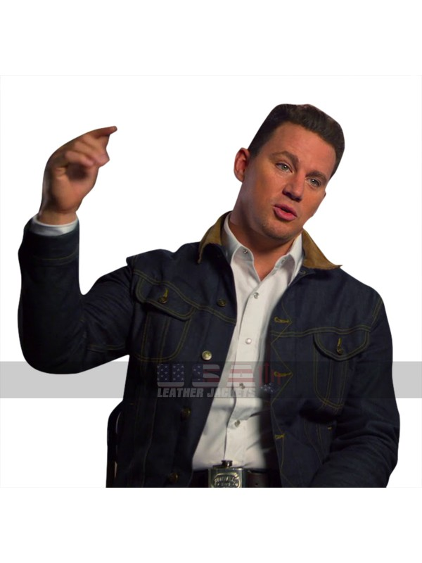 Kingsman The Golden Circle Tequila (Channing Tatum) Denim Jacket