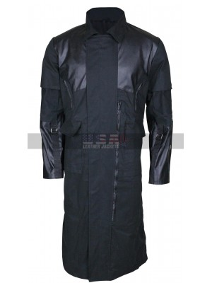 Adam Jensen Deus Ex Mankind Divided Costume Leather Coat