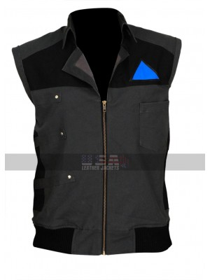 Detroit Become Human Android RK200 Markus Costume Cotton Vest