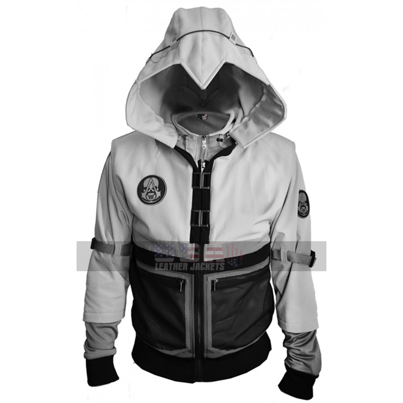 Assassin S Creed Ghost Recon Costume Hooded Bomber Jacket