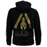 Assassin's Creed Odyssey Spartan Black Cotton Hoodie