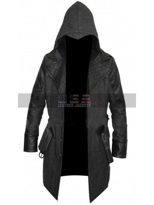 Assassin's Creed Syndicate Jacob Frye Wool Hooded Coat