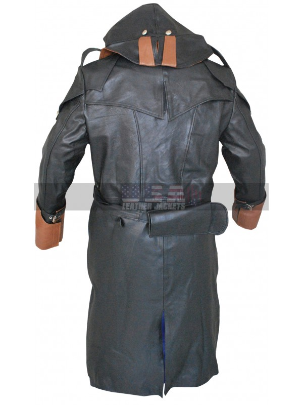 Assassin's Creed Unity Arno Victor Dorian Costume Leather Coat
