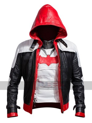 Batman Arkham Knight (Jason Todd) Red Hood Leather Jacket