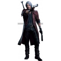 DMC-5 Devil May Cry Dante Brown Leather Jacket