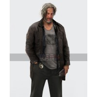 Hank Anderson Detroit Become Human Clancy Brown Leather Jacket