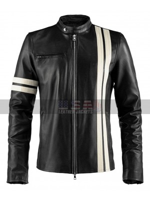 Driver San Francisco John Tanner Black Leather Jacket