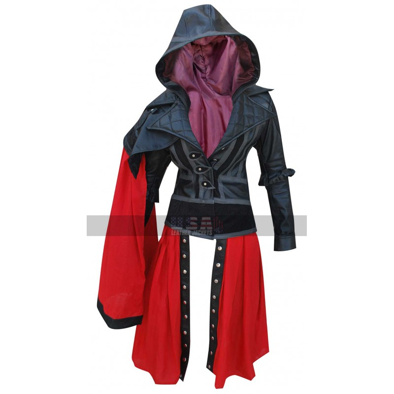 Assassin's Creed Syndicate Evie Frye Leather Costume Coat