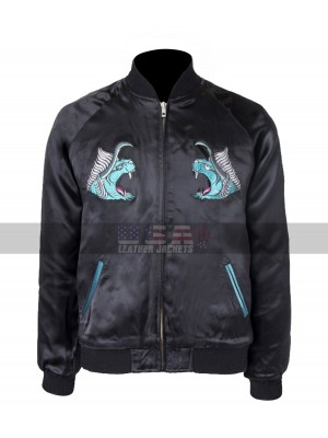 Final Fantasy XV Behemoth Noctis Lucis Caelum Bomber Costume Leather Jacket