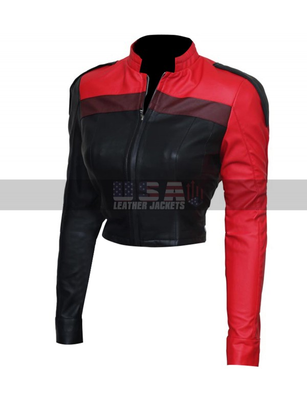 Injustice 2 Gods Among Us Harley Quinn Costume Leather Jacket