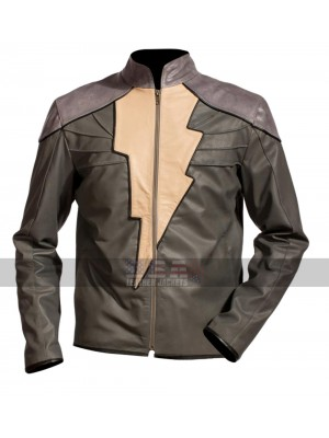 Injustice Gods Among Us Shazam (Black Adam) Costume Leather Jacket