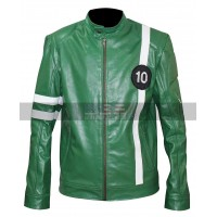 Ben 10 Alien Swarm (Ryan Kelley) Ben Tennyson Leather Jacket