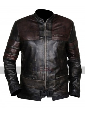 Star Wars The Force Unleashed Starkiller Costume Leather Jacket