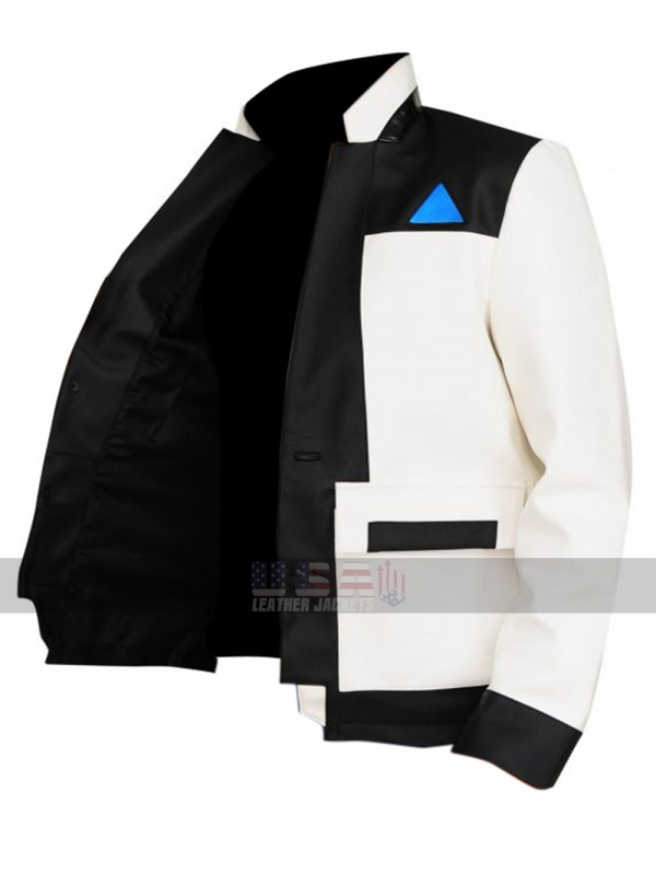 e1bd55cfd Detroit Become Human Android RK900 Upgraded Connor Leather Jacket