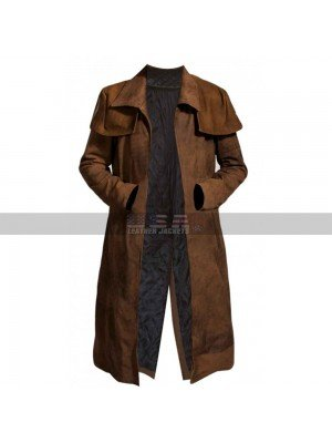 Fallout New Vegas Veteran Ranger Costume Leather Long Coat