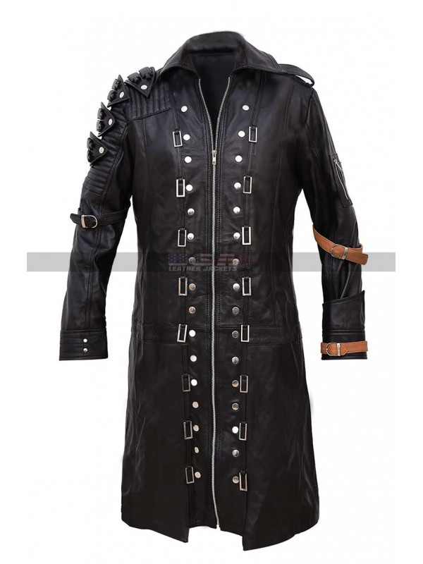 Pubg Game Costume Playerunknowns Battlegrounds Leather Coat