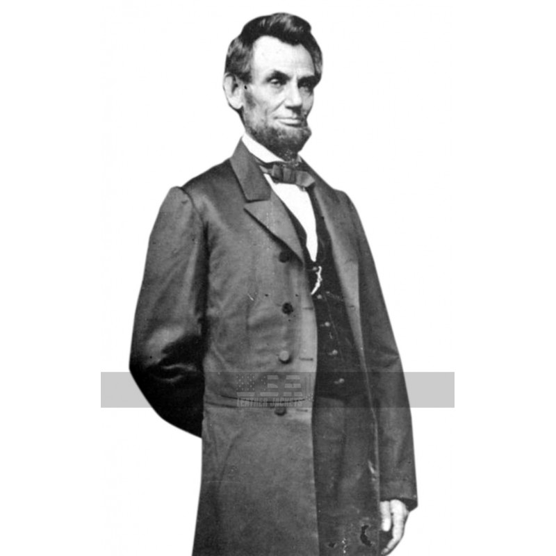 Abraham Lincoln (16th US President) Black Long Cotton Coat