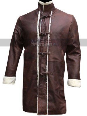King Arthur Legend Of The Sword Brown Leather Coat