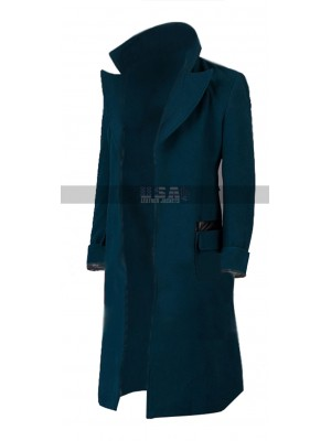 Fantastic Beasts 2 Newt Eddie Redmayne Wool Coat