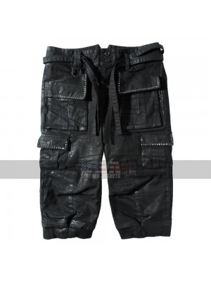 Final Fantasy XV Noctis Lucis Caelum Pants Costume Leather Shorts