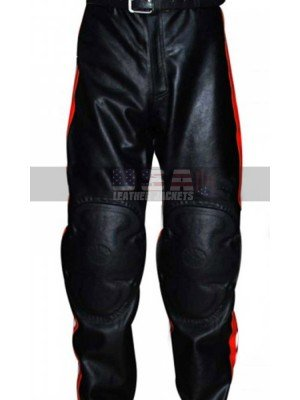HD and Marlboro Man Mickey Rourke Slimfit Leather Pants