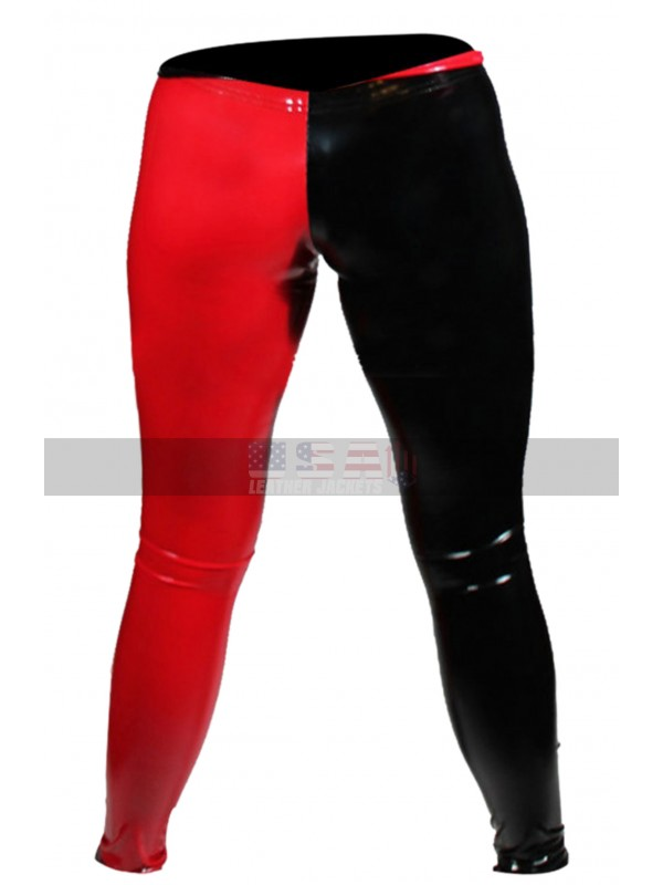 Harley Quinn Batman Arkham City Costume Leather Pants
